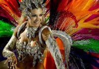 Карнавал в Рио-де-Жайнеро в феврале 2018 года