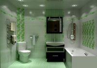 Ванная комната в зеленых тонах – выбирайте самые выигрышные комбинации!