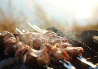 Как приготовить нежнейшие куриные шашлыки в зеленом маринаде?